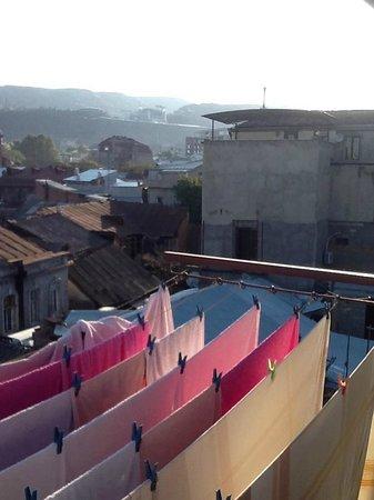 Hotel Babilina: Вид с балкона
