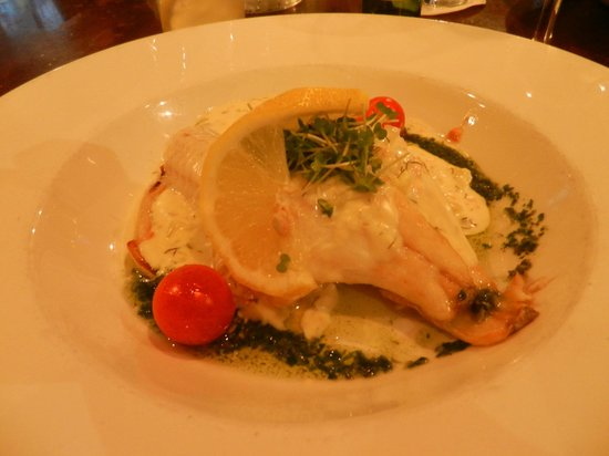 The Old Ground: Sea bass