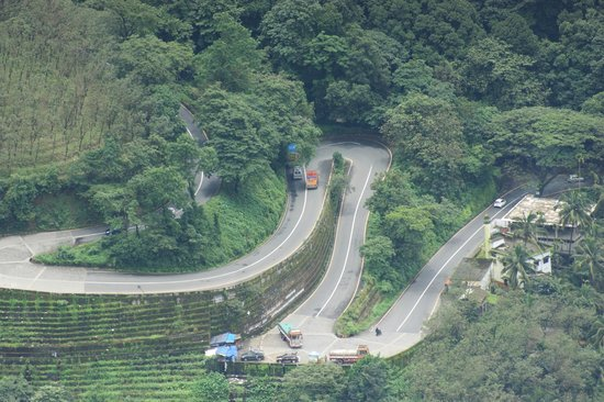 Thamarassery pass  from the lakkidi view point