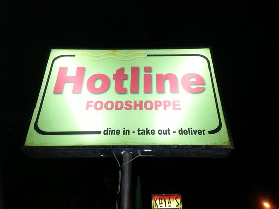 Hotline Cafe: The Sign to look for !