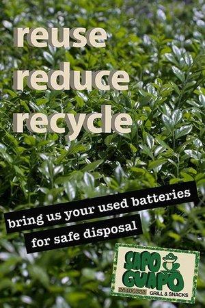 Sapo Guapo: recycle