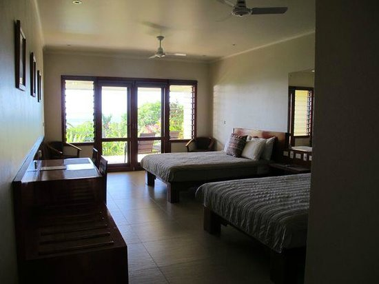 Volivoli Beach Resort Fiji: Room - spacious, clean