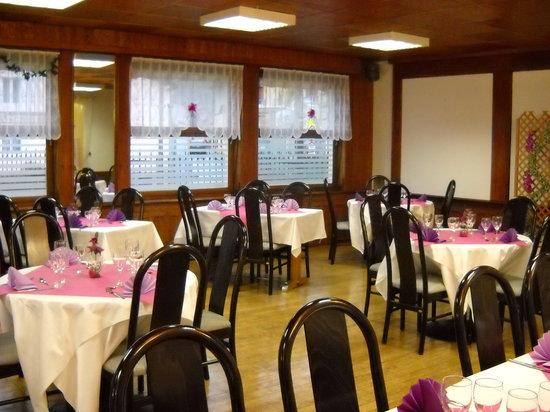 Saint-Ame, Francja: notre salle de restaurant