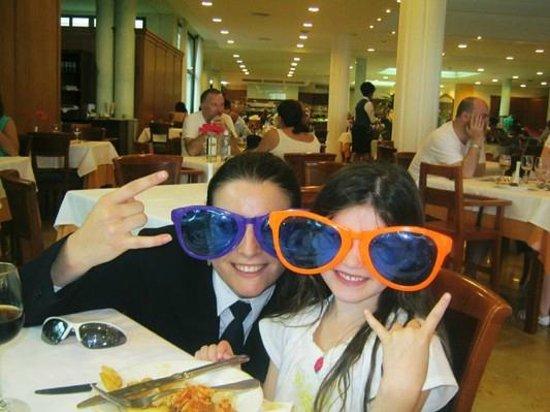 Insotel Punta Prima Resort & Spa: eva who made all our dinig experiences fab