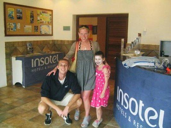 Insotel Punta Prima Resort & Spa: Thomas the star man