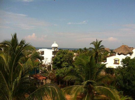 Vivo Escondido Hostel: view from the 3rd floor