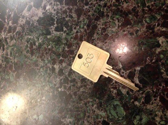 Murray Hill East Suites: Old school keys
