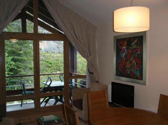 Apartamentos Pierre & Vacances Premium Les Terrasses d'Eos: Salle à manger hébergement 4 p