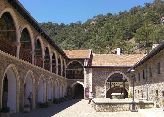 Kykkos Monastery (Panagia tou Kykkou): Courtyard