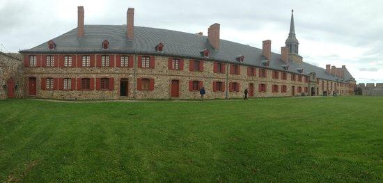Le site historique national de la Forteresse de Louisbourg : officer's quarters