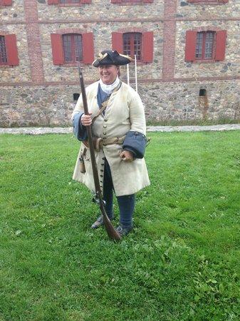 Le site historique national de la Forteresse de Louisbourg : a soldier's life