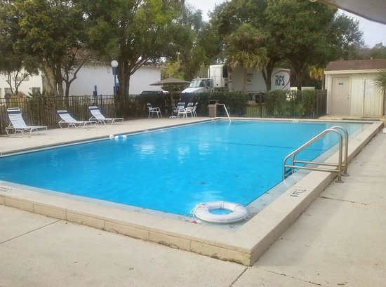 Motel 6 Tampa Downtown : Motel 6 Fairgrounds  Pool