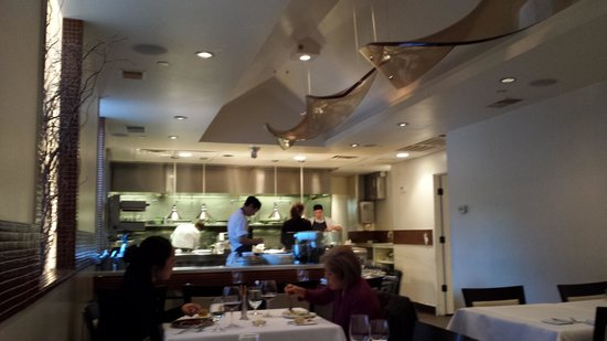 Chef's dining Room at Volt