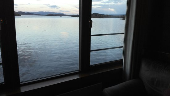 Lodge on Loch Lomond: view from room 7