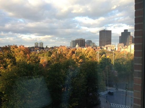 Four Seasons Hotel Boston: View from my suite