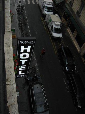 Nouvel Eiffel Hotel : Rue des Volontaires