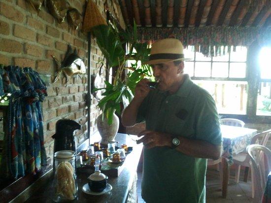 Pousada Do Roballo: melhor que o cafezinho é o papo