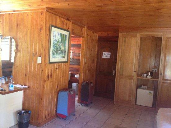 Acajou Beach Resort : stanza