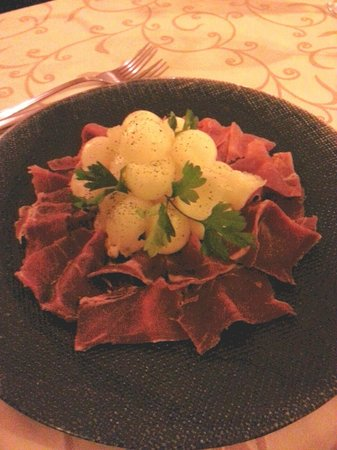 La Casa Rustica : Melon and Ham.
