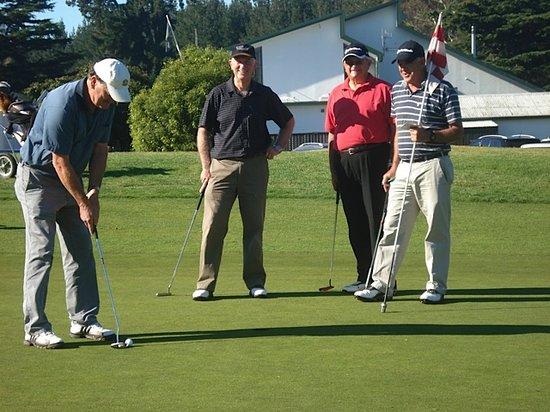 Havelock House: play golf