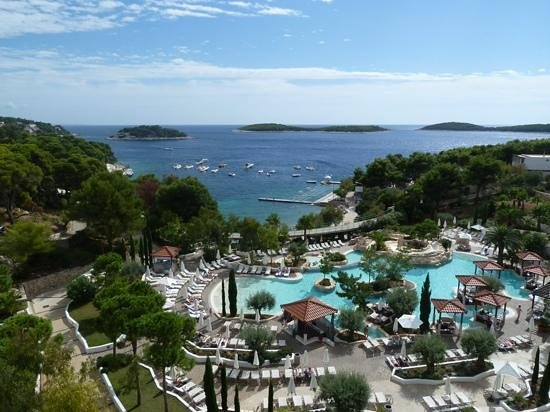 Amfora Hvar Grand Beach Resort: hotel Amfora Hvar