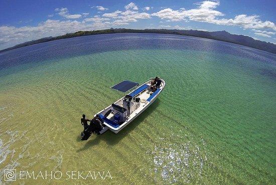 Emaho Sekawa Resort: Boat excursion with Emaho Sekawa
