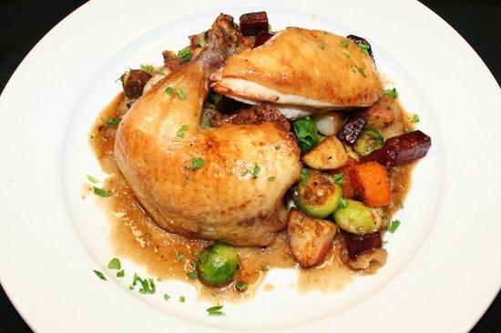 Back Room Steakhouse: Roasted Chicken Dinner