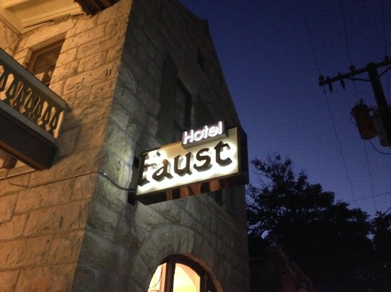 The lovely Hotel Faust