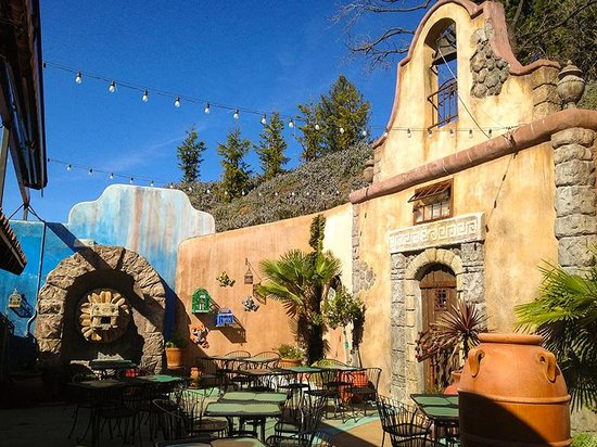 Maria's Mexican Restaurant : Maria's outdoor patio - the closest you can get to Mexico without a passport!