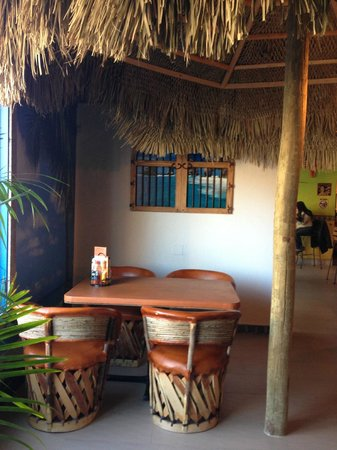 Las Palapas Resort Grill: New section of restaurant