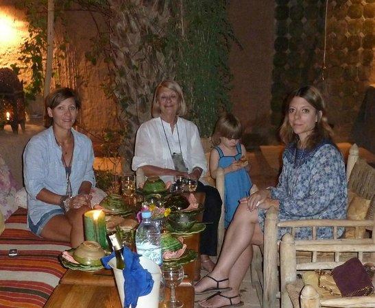 Villa Zagora Ma Villa au Sahara: dining