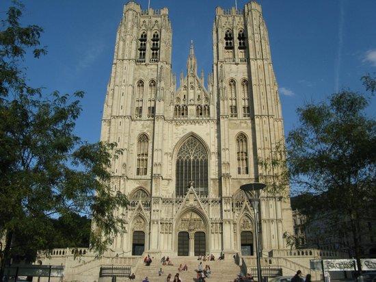 Cathédrale Saints-Michel-et-Gudule de Bruxelles : Catedral San Miguel