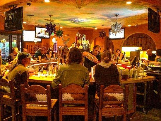 Maria's Mexican Restaurant : Maria's popular cantina.
