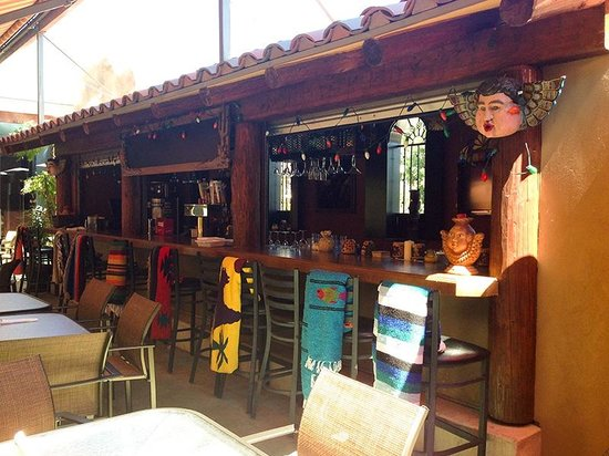 Maria's Mexican Restaurant: Maria's outdoor patio is the place to be with good weather.