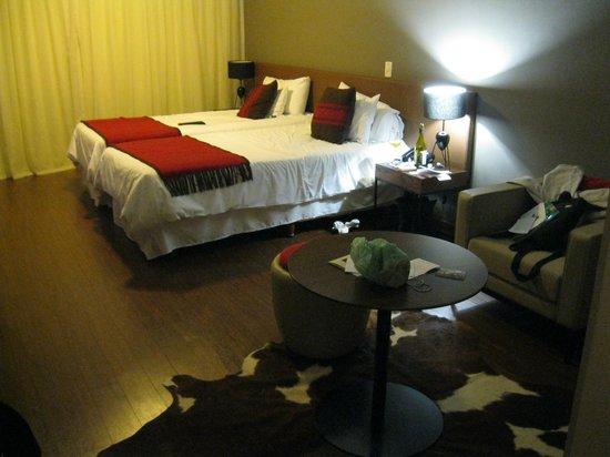 Aspen Square : O quarto é espaçoso.