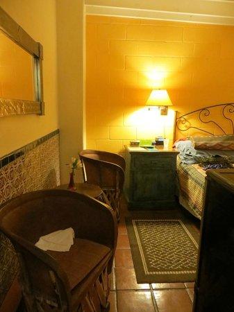 Santa Fe Motel and Inn: Room #2 - chairs