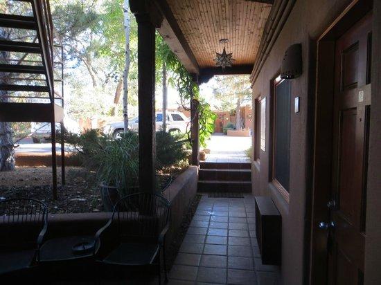 Santa Fe Motel and Inn: Room #2 - Straight ahead out door - office area