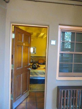 Santa Fe Motel & Inn: Room #2 - front door