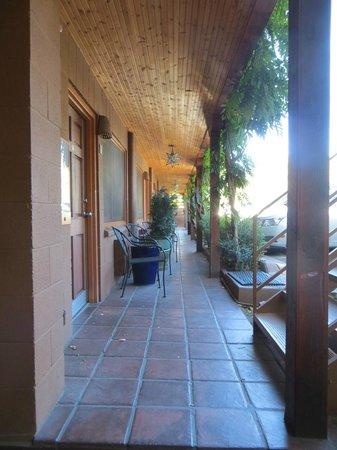 Santa Fe Motel & Inn: Room #2 - view down porch
