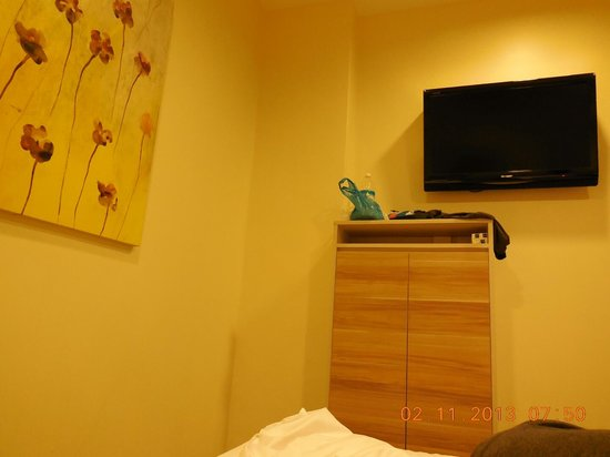 Hotel 81 Dickson: our room standard size