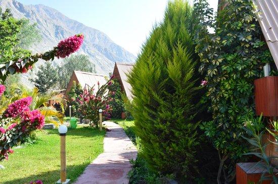 La Confianza Hotel - Lunahuana: hermosos jardines