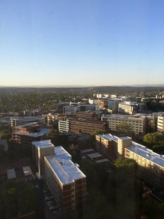 Sandton Sun: 26th floor view