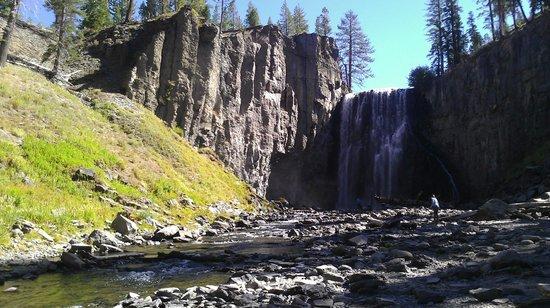 Mountainback at Mammoth: Angel Falls