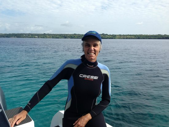 Aore Adventure Sports & Lodge: Before hitting the depths of the submarine nets