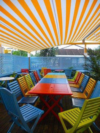 La Casita Rarotonga: Dining area