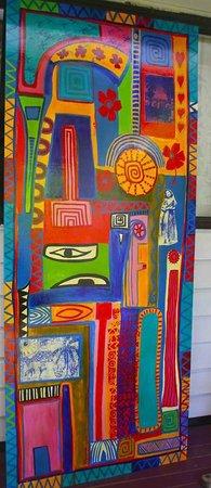 La Casita Rarotonga: Kay George artwork decor