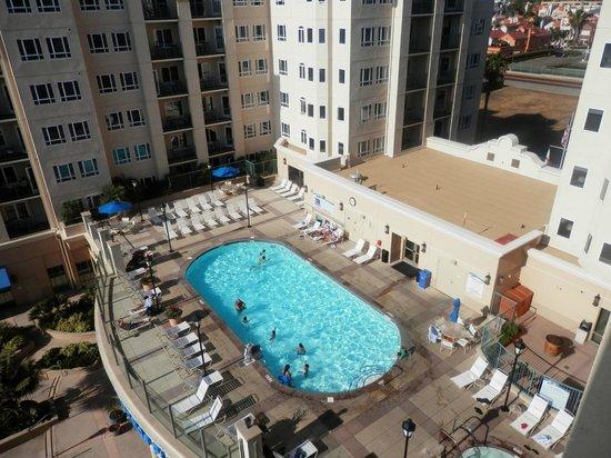 Wyndham Oceanside Pier Resort: From deck over looking the pool