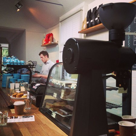 Colonna and Small's Speciality Coffee: The legend himself