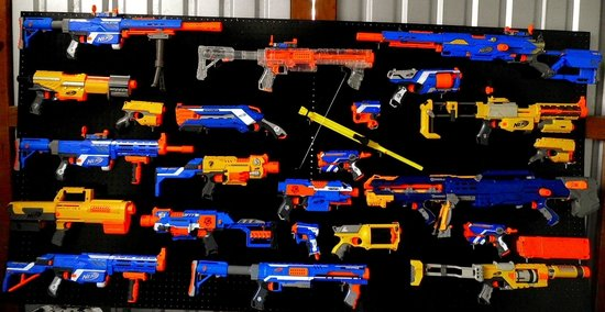 Ground Zero Gallery : Various Nerf than we use