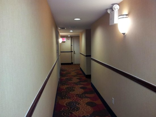 La Quinta Inn Queens New York City: Hall